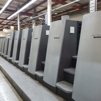 Commercial printing machinery